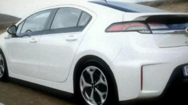 Trailer Opel Ampera