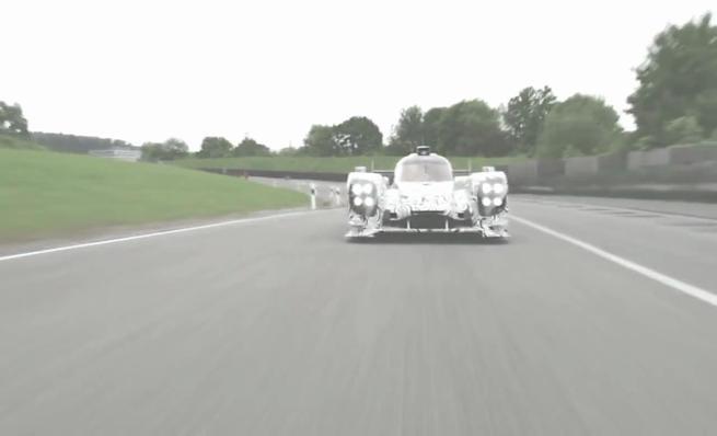 Porsche prueba su nuevo LMP1 para 2014
