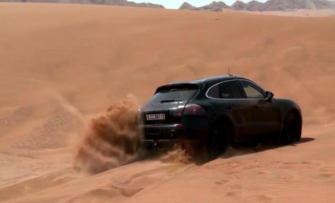 El Porsche Macan demuestra su garra en el desierto