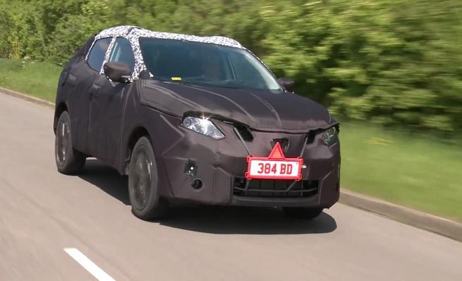 El nuevo Nissan Qashqai en pruebas