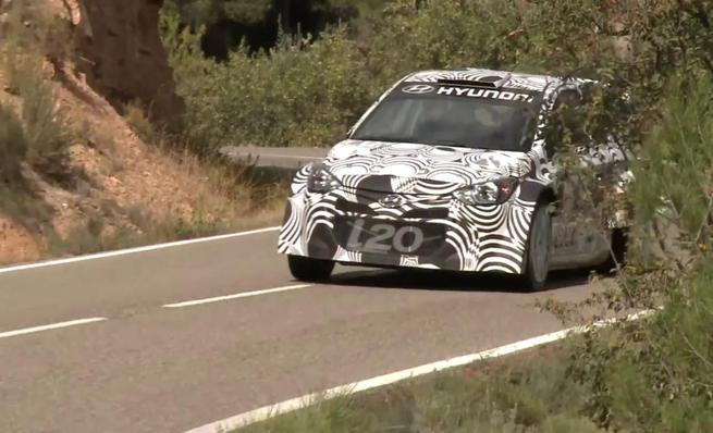 Los test en asfalto de Hyundai Motorsport en España