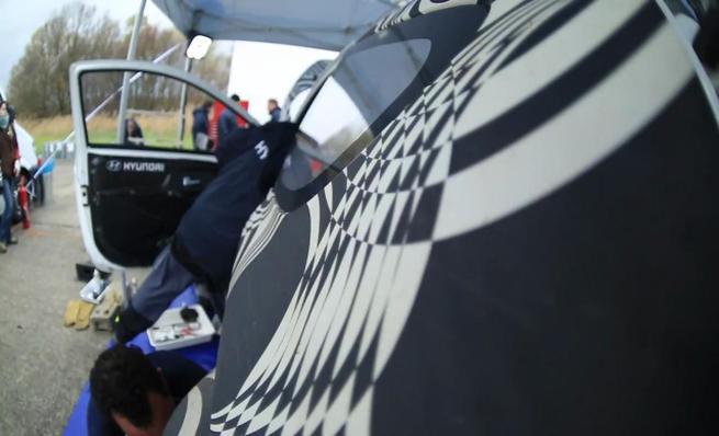 El i20 WRC se prueba en asfalto alemán