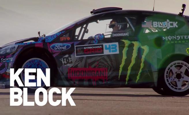 Gymkhana six by Ken Block