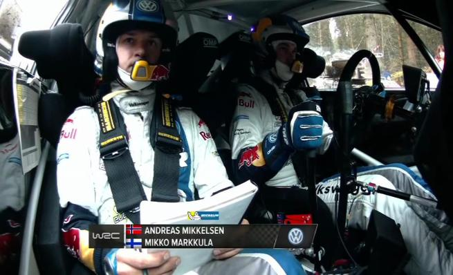 On board Andreas Mikkelsen - SS12 Rally de Gales GB