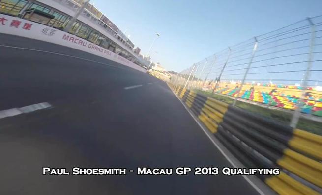 El Circuito da Guia de Macao desde una BMW S1000 RR