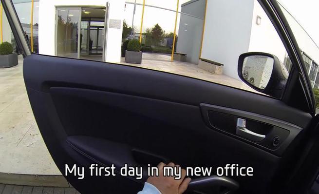 El primer día de Thierry Neuville con Hyundai Motorsport