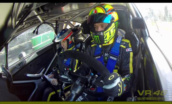 Highlights del Monza Rally Show - Valentino Rossi