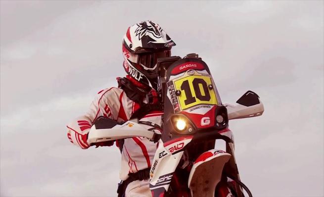 Gas Gas preparada para el Dakar 2014