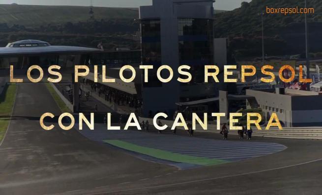 Los pilotos Respol en la última cita del CEV 2013