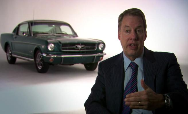 Ford Mustang 2015, presentación