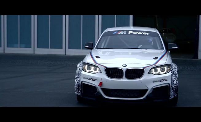 El BMW M235i Racing en el aerodromo
