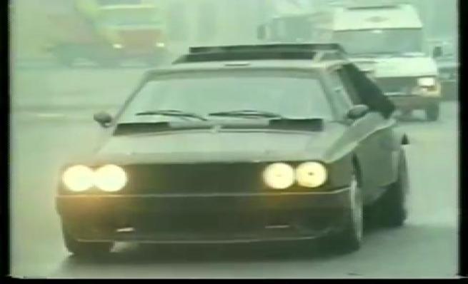 Desarrollo y pruebas del Lancia Delta S4 Grupo B prototipo