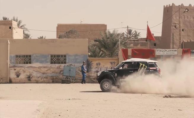 Presentación Dakar 2014 por Monster Energy X-Raid