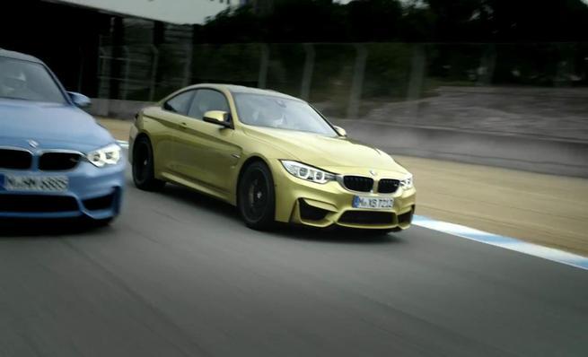Nuevos BMW M3 y M4: promocional
