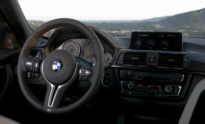 Nuevo BMW M3: Interior