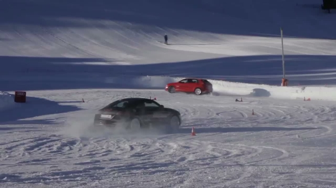 Audi winter driving experience 2012