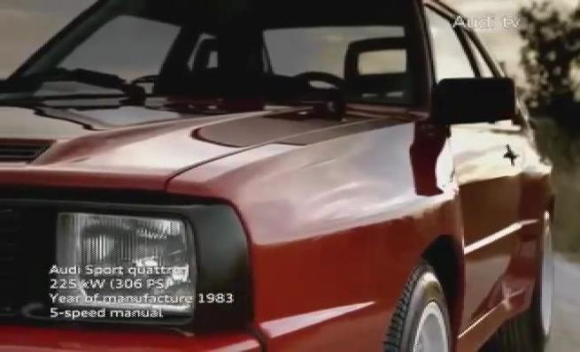 Audi S3 2013 contra Audi Sport quattro 1983