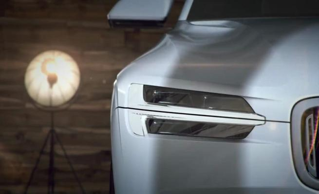 Volvo XC Coupe concept, teaser