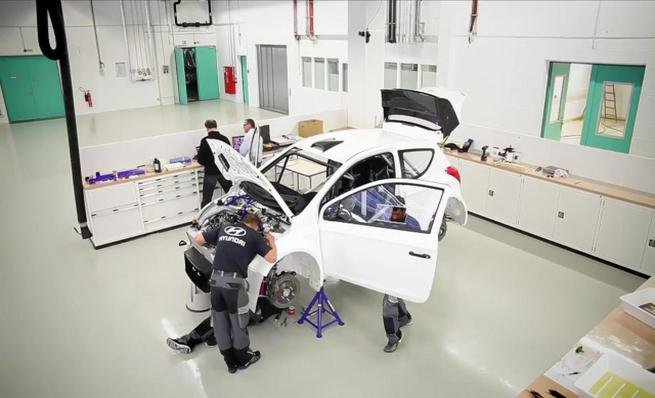 El proceso de desarrollo Hyundai Motorsport en video
