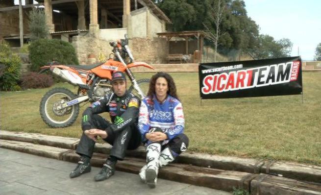 Nani Roma y Rosa Romero juntos al Dakar 2014