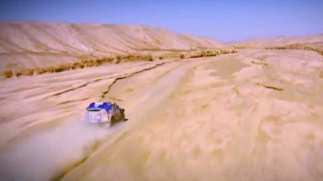Presentación oficial del Dakar 2012