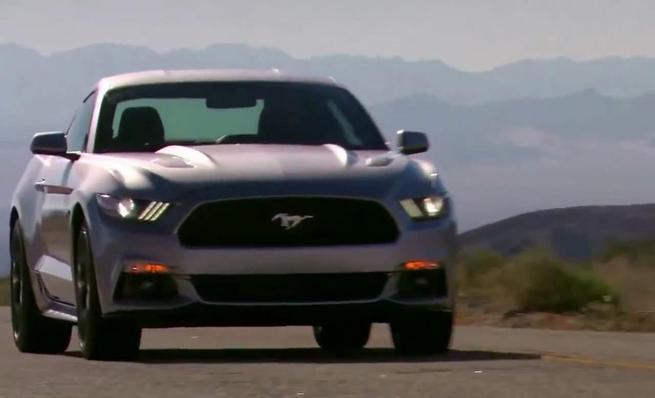Ford Mustang 2015, conducción
