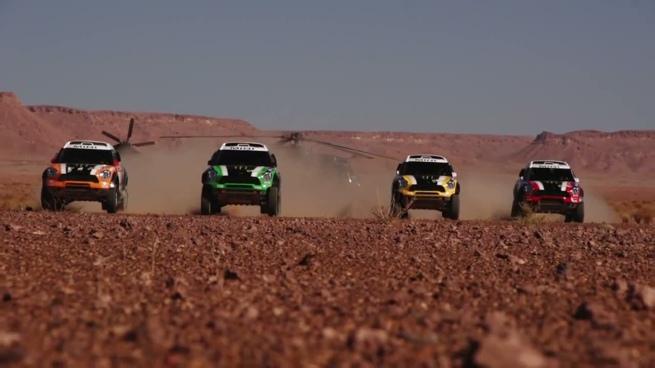Así se preparó el X-Raid Team para el Dakar 2012