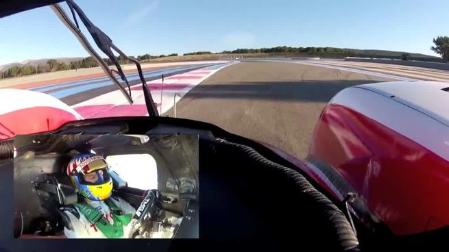 Toyota TS030 Hybrid, vuelta onboard con Alex Wurz