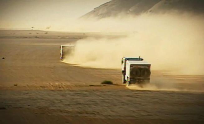 Camiones: los pesos pesados del Dakar