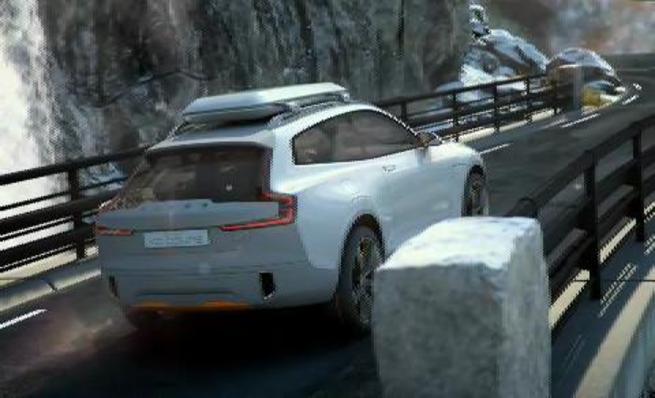 Nuevo Volvo XC concept coupé 2014