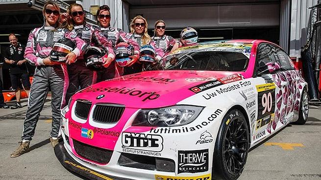 Racing Divas vence en la clase A3T en las 24 Horas de Dubai