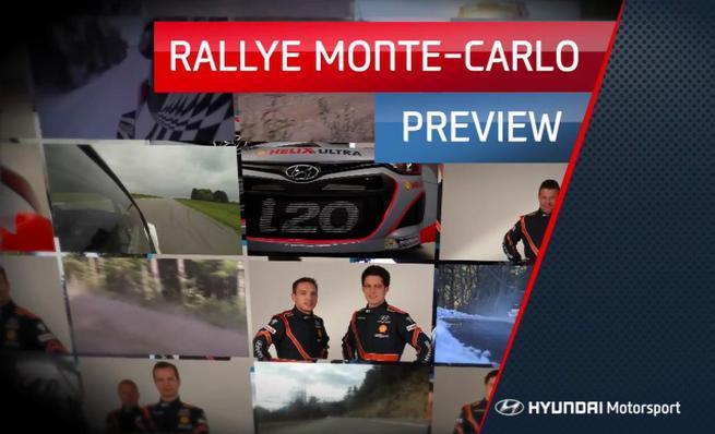 Previo Rally de Montecarlo 2014 por Hyundai Motorsport