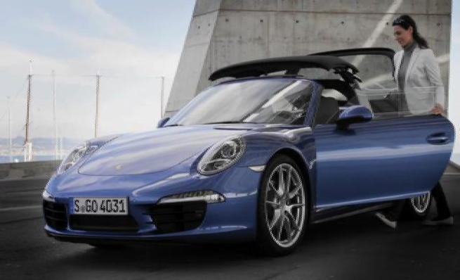 Presentación Porsche 911 Targa