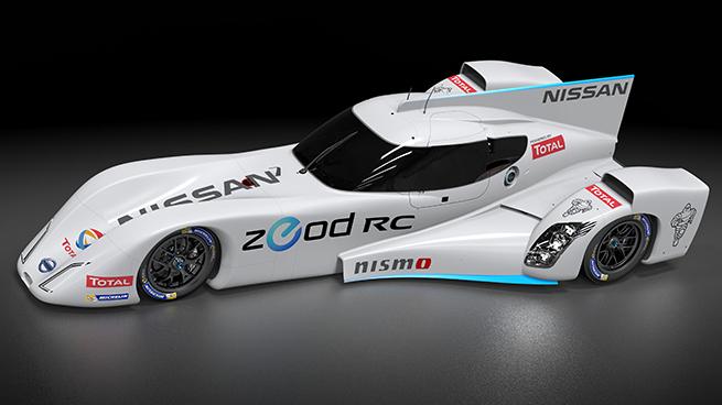 Nissan presenta su revolucionario motor de gasolina que complementará al propulsor eléctrico del ZEOD RC