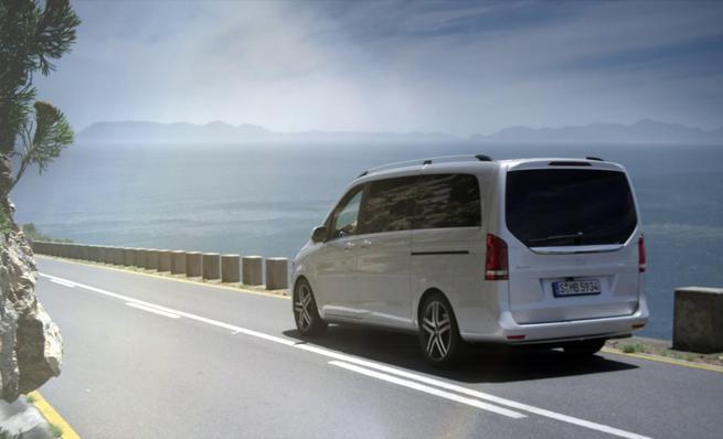 Nueva Clase-V de Mercedes-Benz