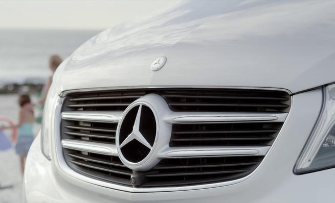 Mercedes-Benz Clase-V, diseño exterior