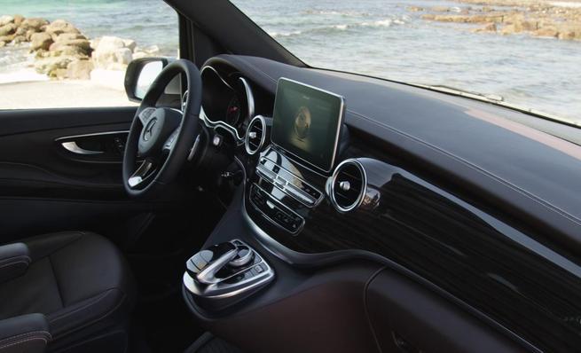 Mercedes-Benz Clase-V, diseño interior