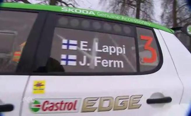 Esapekka Lappi gana el Rally Liepaja 2014