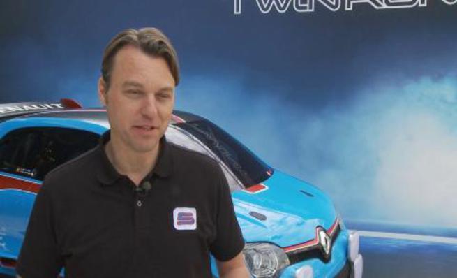 Presentación Concept Car Renault Twin'Run