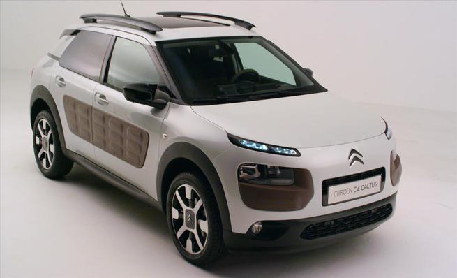 Exterior del nuevo Citroën C4 Cactus