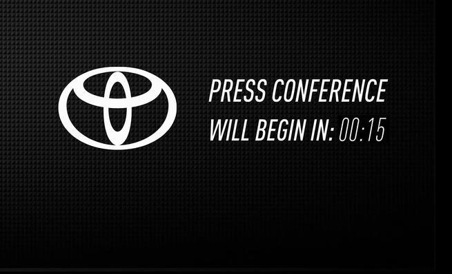 Presentación del Toyota FT-1 en el NAIAS 2014