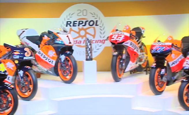 20 años de estrecha relación de Honda y Repsol