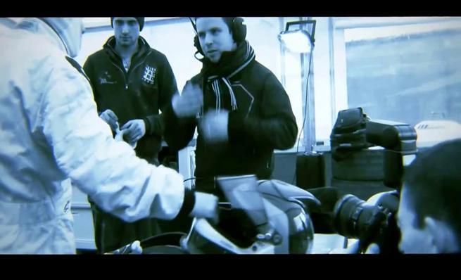 El primer test de Jacques Villeneuve en rallycross
