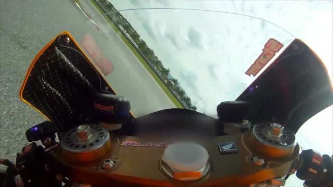 Una vuelta al circuito de Sepang con Casey Stoner