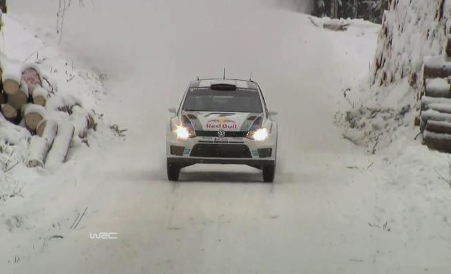 Las mejores imágenes del Rally de Suecia 2014