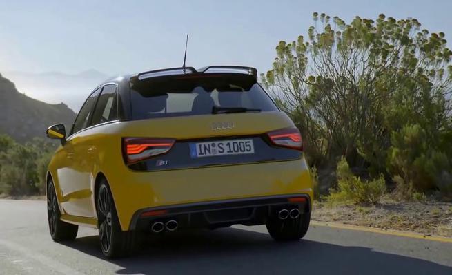 Audi S1: Test de conducción
