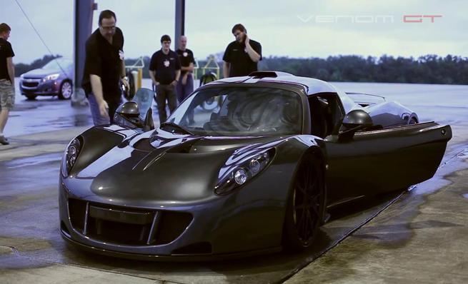 El récord de velocidad del Hennessey Venom GT