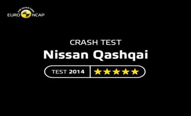 Crash Test del Nissan Qashqai