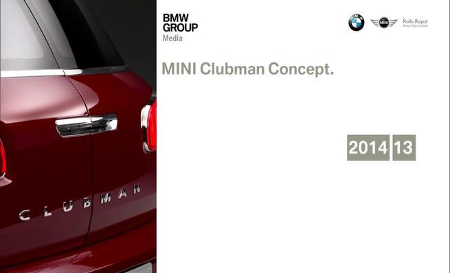 Mini Clubman Concept: Exterior