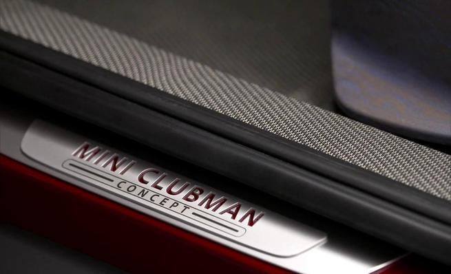 Mini Clubman Concept: Interior